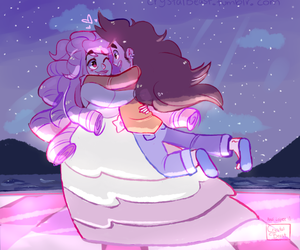 rose quartz, steven universe, and Greg image
