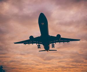 escape, travel, and sky image
