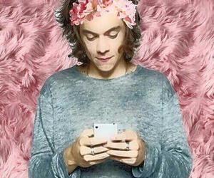 flowers, pink, and styles image
