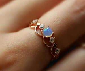 fashion, ring, and finger image