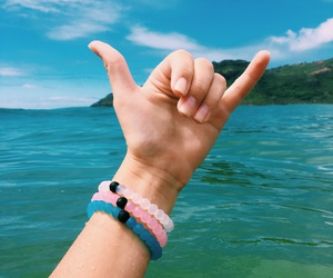 beach, bracelets, and chill image