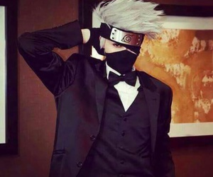 cosplay, naruto, and kakashi image