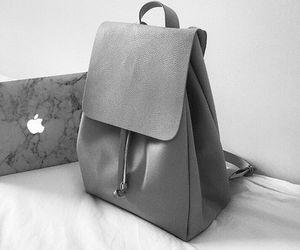 grey, bag, and apple image