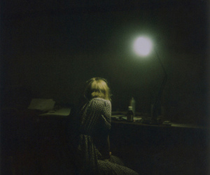 alone, blonde, and girl image
