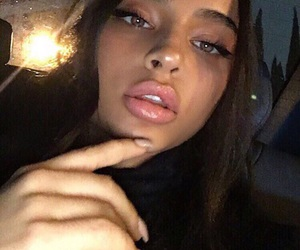 beautiful, lips, and eyes image