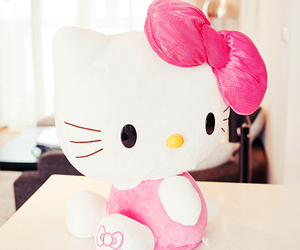 cute, hello kitty, and kitty image