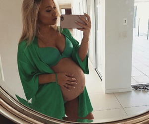 tammy hembrow, pregnancy, and baby image
