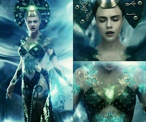 enchantress, beautiful, and suicide squad image