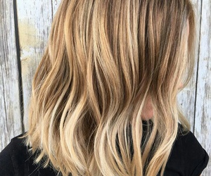blond, color, and hair image