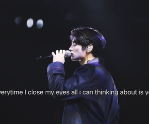 quote, SHINee, and minho image