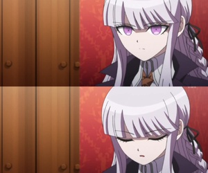 anime, kirigiri kyouko, and danganronpa image
