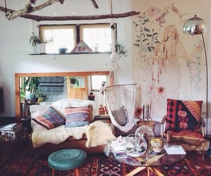 room, bohemian, and boho image