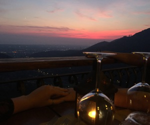 dinner, food, and italy image