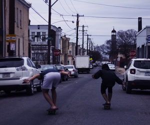 amigos, skate, and friends image