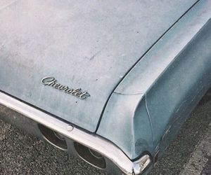 car, chevrolet, and vintage image