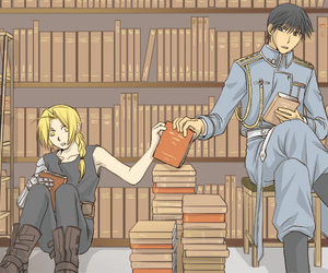 anime, art, and fullmetal alchemist image