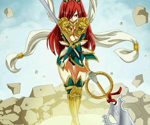 fairy tail, anime girl, and erza scarlet image