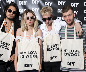 wolf alice and my love is cool image