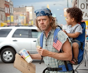 shameless and frank gallagher image
