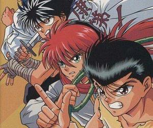 yu yu hakusho, kurama, and hiey image