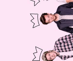 background, niall horan, and crown image