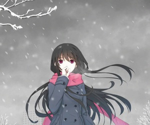 noragami, anime, and anime girl image