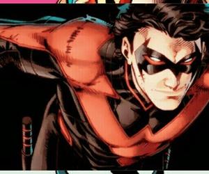 batman, nightwing, and comics image