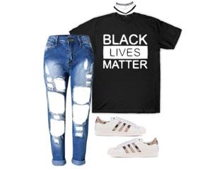 adidas, black, and blue image
