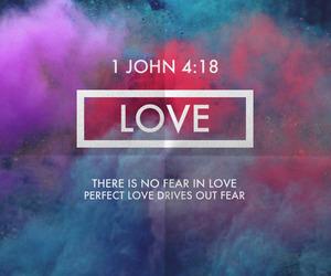 love, god, and faith image
