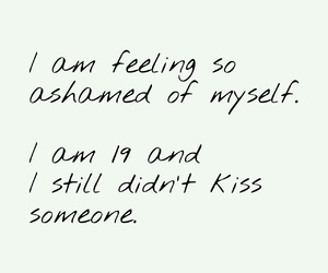 anxiety, ashamed, and kiss image
