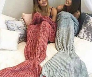 mermaid, friends, and best friends image
