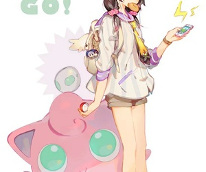 pokemon, pokemon go, and anime image