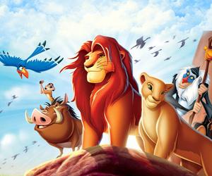 disney and lion king image