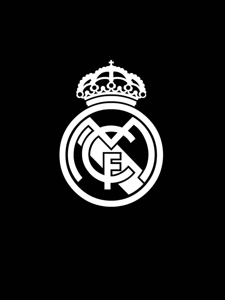 Black And White Madrid hala madrid shared by mar on we heart it