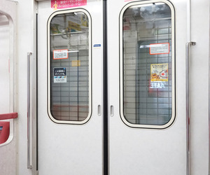japan, train, and pale image