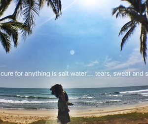 couple, ocean, and quotes image