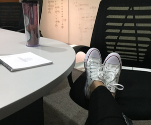 chill, office, and converse image