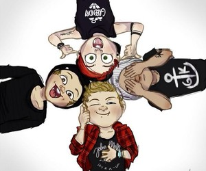 5sos, LUke, and michael image