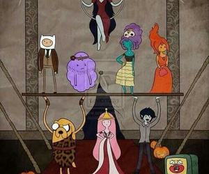adventure time, american horror story, and freak show image