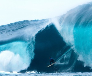 surf, surfing, and waves image