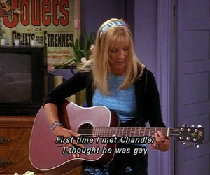 friends, funny, and phoebe image