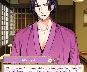 otome game, inuchiyo, and samurai love ballad party image