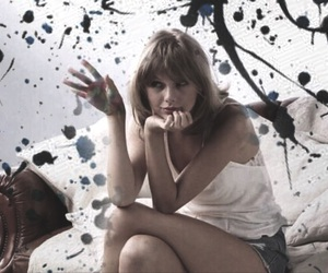paint, photoshoot, and Taylor Swift image