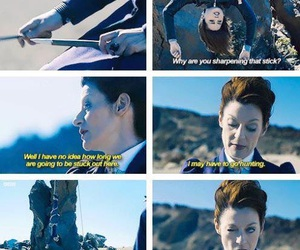 doctor who, missy, and clara oswald image
