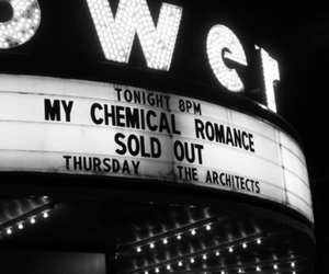 my chemical romance, mcr, and concert image