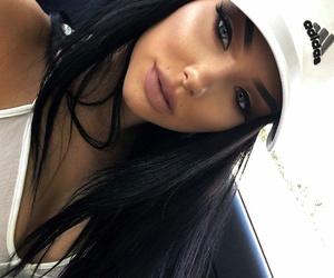 girl, makeup, and adidas image