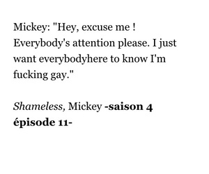 gallagher, quote, and shameless us image