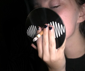 grunge, arctic monkeys, and cigarette image