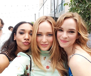 danielle panabaker, the flash, and candice patton image