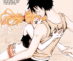 luna, best ship, and luffy x nami image
